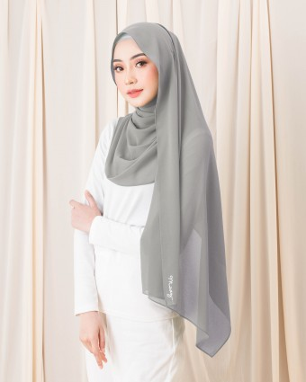 BASIC SHAWL - COOL GRAY
