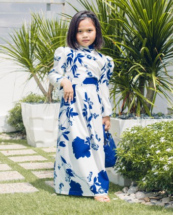 DIANNE SUIT KIDS - BLUE WHITE