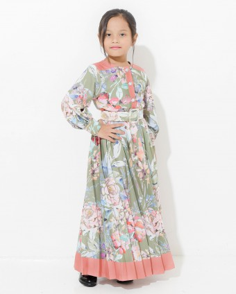 ELEANOR KIDS SUIT - GREEN (L-2XL)