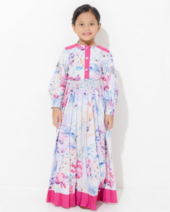 ELEANOR KIDS SUIT - MAGENTA (L-2XL)