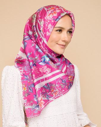 ENGLISH PORCELAIN BAWAL - MAGENTA