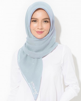 PLAIN BAWAL - ICE BLUE