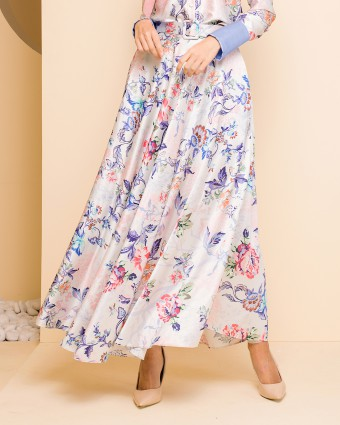 JOANNA ENGLISH SKIRT - CREAM
