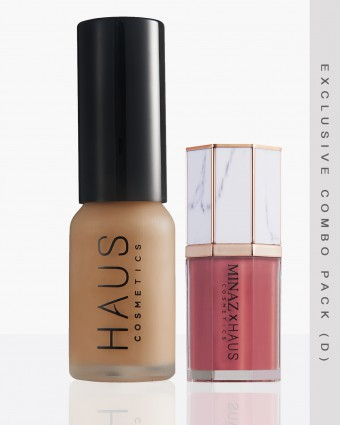 MINAZ X HAUS (D) - DARK FOUNDATION + JANEELA LIPCREAM