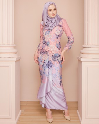 ROSE KEBAYA PARIO LUXE - DUSTY PINK