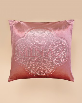 LUXE PLAIN PILLOW CASE - PINK