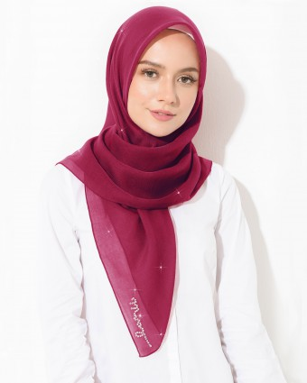 PLAIN BAWAL - RUBY RED
