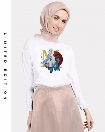 LADY PIJA BASIC SHIRT - WHITE